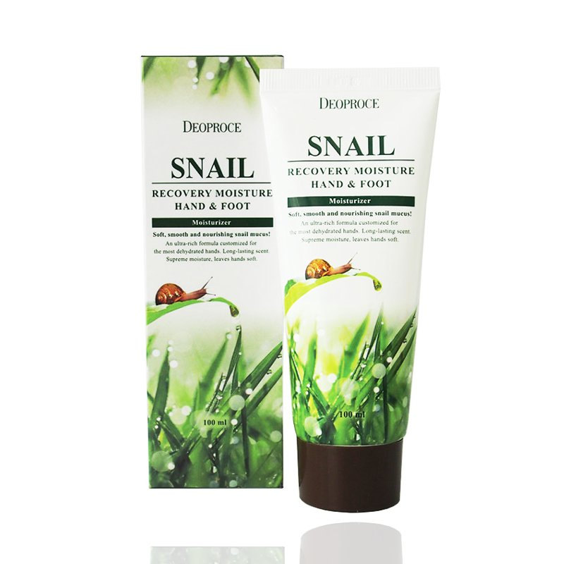 Deoproce Snail Recovery Moisure Hand Foot