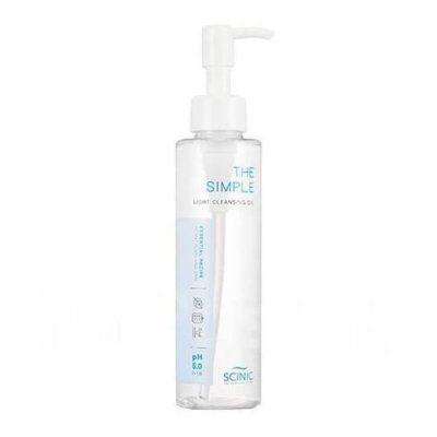 SCINIC THE SIMPLE LIGHT CLEANSING OIL